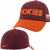 Virginia Tech Hokies Nike Swooshflex Hat