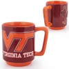 Virginia Tech Hokies Raised Mug