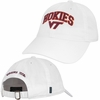 Virginia Tech Hokies Relaxed Twill Hat in White