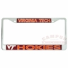 Virginia Tech Holographic License Plate Frame