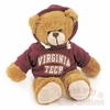 Virginia Tech Hoodie Bear