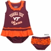 Virginia Tech Infant Ruffle Dress