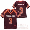 Virginia Tech Kids' Mesh #3 Football Jersey