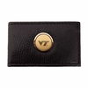 Virginia Tech Leather Money Clip