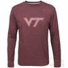 Virginia Tech Long Sleeved Tri-blend Tee by Nike