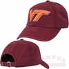 Virginia Tech Maroon Crew Adjustable Cap