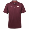 Virginia Tech Maroon Staff Polo by Nike