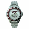 Virginia Tech Mens Competitor Steel Watch