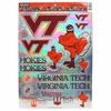 Virginia Tech Metallic Decal Sheet
