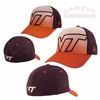 Virginia Tech New Era 39THIRTY Kids Gradation Hat