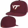 Virginia Tech Nike Dri-FIT Authentic Fitted Hat