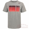 Virginia Tech Nike Hyper Repeat Tee