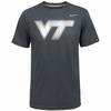 Virginia Tech Nike Platinum Tri-Blend Tee