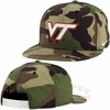 Virginia Tech Nike True Snapback Camo Hat