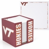 Virginia Tech Note Cube and Holder