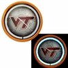 Virginia Tech Plasma Wall Clock