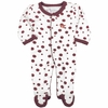 Virginia Tech Polka Dot Footie Pajamas