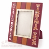 Virginia Tech Primitive Photo Frame