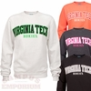 Virginia Tech Printed Crew: Choose your color