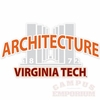 Virginia Tech Pylons Architecture Decal