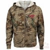 Virginia Tech Realtree Camo Full-Zip Hoodie