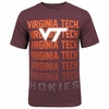 Virginia Tech Repeat Base Tee by Colosseum