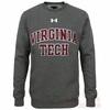 Virginia Tech Rival Fleece Crew by Under Armour