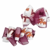 Virginia Tech Satin Organza Toddler Bows