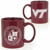 Maroon Virginia Tech Seal Mug