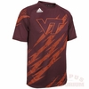 Virginia Tech Short Sleeved Climalite Performance Shirt
