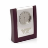 Virginia Tech Silver Classic Clock