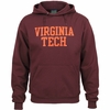 Virginia Tech Single-Layer Applique Hoodie