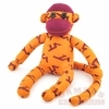 Orange Virginia Tech Sock Monkey