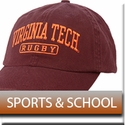 Virginia Tech Sports, School & Cadet Hats