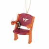 Virginia Tech Stadium Chair Ornament