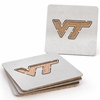 Virginia Tech Stainless Steel Coasters
