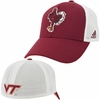 Virginia Tech Structured Flex Heathered Mesh Hat by Adidas