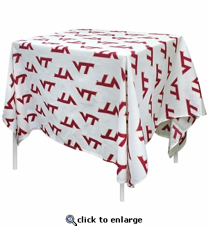 Virginia Tech Tablecloth
