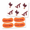 Virginia Tech Tattoo and Eye Strip Combo Pack