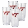Virginia Tech Tervis Tumbler Four Pack, 16oz