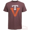 Virginia Tech Throwback Logo Scrum Tee by 47 Brand
