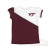 Virginia Tech Toddler Caz Contrast Tee