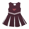 Virginia Tech Toddler Cheer Dress