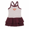 Virginia Tech Toddler Emma Striped Dress