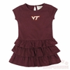 Virginia Tech Toddler Frill Dress