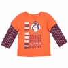 Virginia Tech Toddler Polka Dot Layered Tee