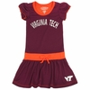Virginia Tech Toddler Tie Front Dress