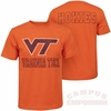 Virginia Tech Tournament Tee by Colosseum