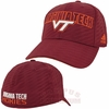 Virginia Tech Travel Flex Hat by Adidas