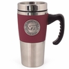 Virginia Tech Travel Mug with Pewter Emblem
